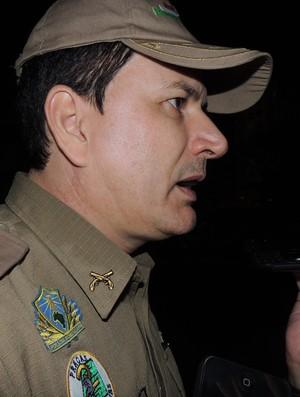 Tenente-coronel Márcio Cabral Criciúma Policia Militar (Foto: João Lucas Cardoso)