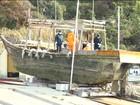 Barcos abandonados com corpos aparecem na costa do Japão