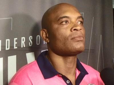 Anderson Silva UFC Media Day (Foto: Adriano Albuquerque)