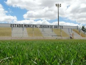 estádio joaquim de britto pesqueira (Foto: Lafaete Vaz / GloboEsporte.com)
