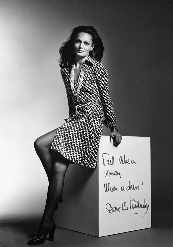 Diane Von Furstenberg faz parte da realeza da moda (Foto: Reprodução)
