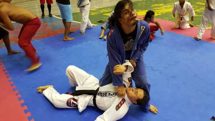 Thiago George, 29 anos, pratica Jiu-Jitsu (Foto: Junior Martins / FMTJJLA)