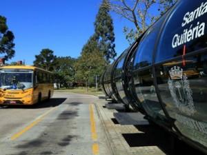 Venda na estação-tubo Santa Quitéria começou nesta quinta-feira (7) (Foto: Valdecir Galor/SMCS)