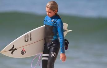 Aos 11 anos, surfista de Guaecá mira título por vaga no Instituto Medina