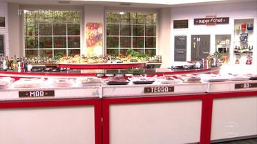 Participantes do Super Chef Celebridades enfrentam desafio na prova da panela de pressão