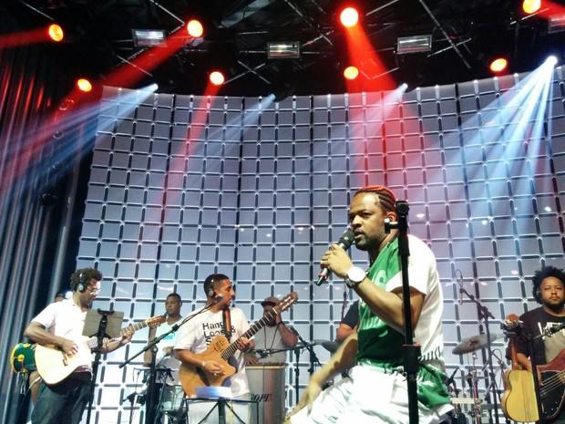 Xande de Pilares ensaia para o Msica Boa Ao Vivo (Foto: Livio Vilela/Multishow)