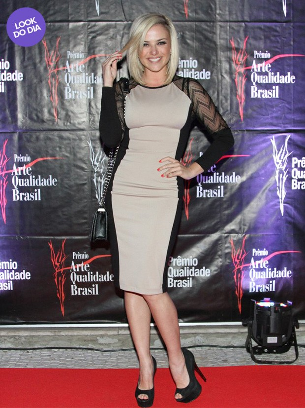 Look do dia - Natállia Rodrigues (Foto: Francisco Cepeda / AgNews)