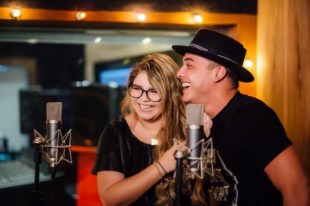 Wesley Safadão grava com Marília Mendonça (Foto: Rafael Covre / Divulgação)
