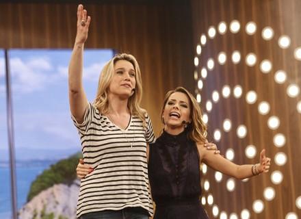 Sandy e Fernanda Gentil fecham a temporada do 'Tamanho Família' em grande estilo no dia 9/10