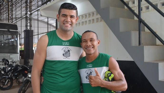 Diego e Marau (Foto: Jonhwene Silva/GE-AP)