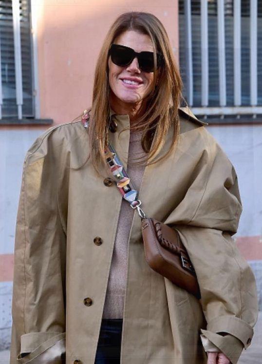 Anna Dello Russo com bolsa Fendi (Foto: Divulgação)