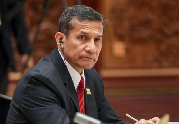 O presidente do Peru , Ollanta Humala (Foto: Getty Images)