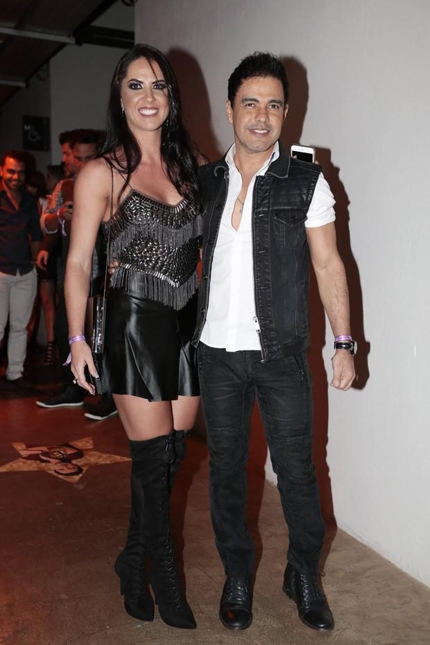Graciele Lacerda e Zezé Di Camargo (Foto: Rafael Cusato/BrazilNews)