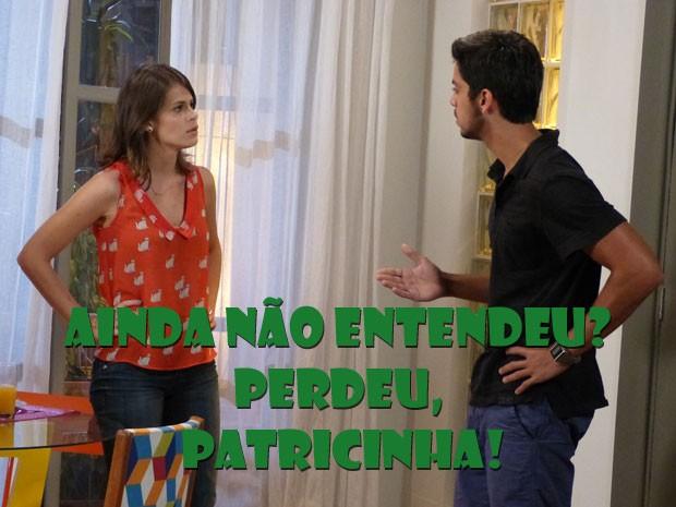 HAHAHAHAHAHA Olha a cara da Ana depois de tomar O fora do Bruno (Foto: Malhação / Tv Globo)