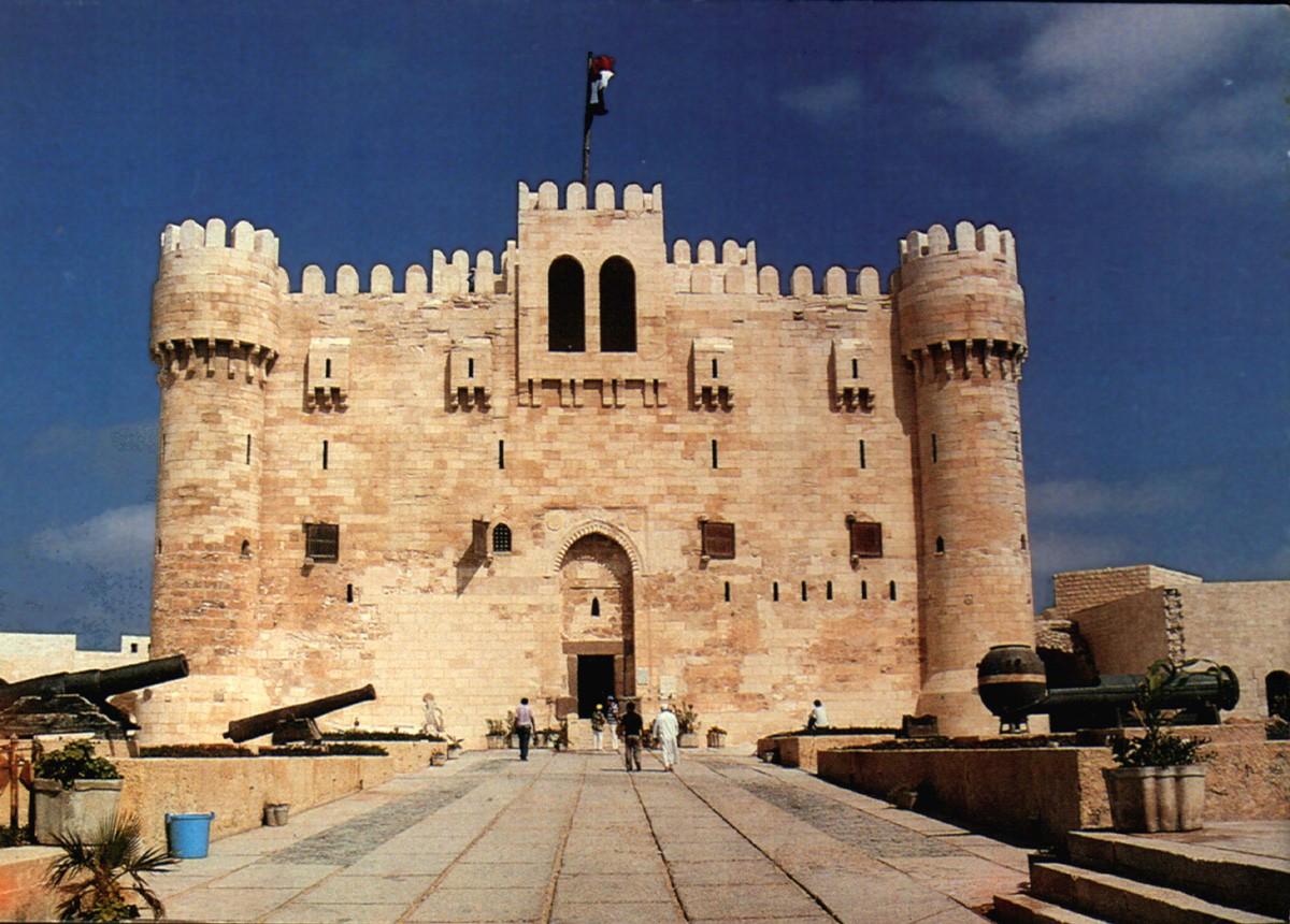 A fortaleza (ou cidadela) de qaitbay (Foto: Wikimedia Commons)