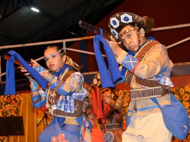 Evento encantou a comunidade do município de Poço de José de Moura, no sertão paraibano, com apresentações culturais (Foto: Divulgação)