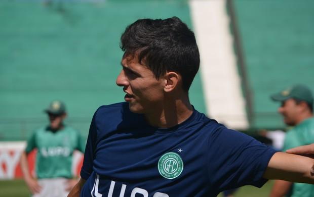 Willian Favoni, volante do Guarani (Foto: Murilo Borges / Globoesporte.com)
