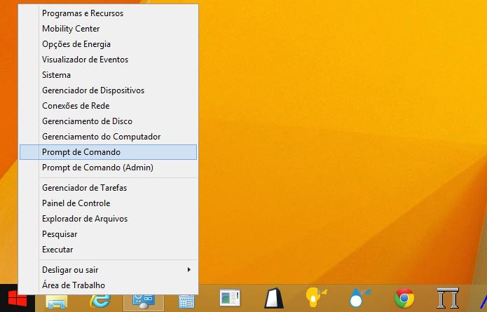 Abra o Prompt de Comando do Windows (Foto: Reprodução/Helito Bijora)