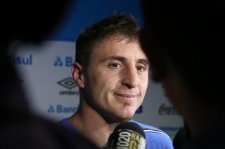 Cristian Rodríguez Grêmio (Foto: Eduardo Moura/GloboEsporte.com)