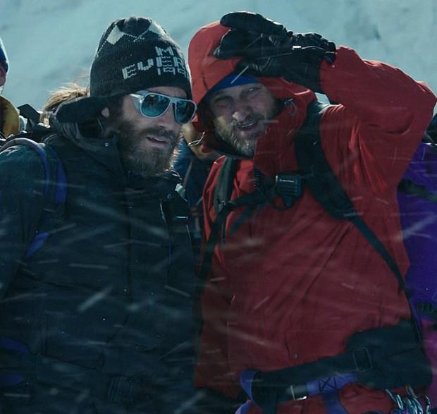 Jake Gyllenhaal: completamente subaproveitado em 'Evereste' (Foto: Divulgação)
