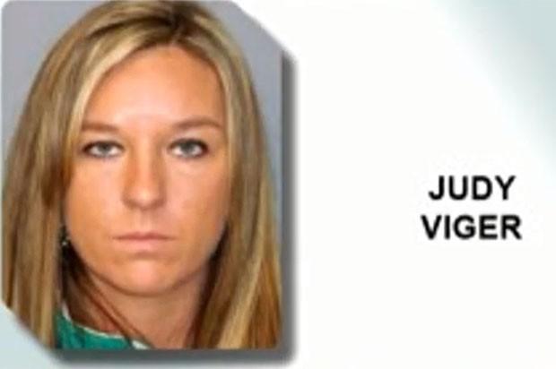 Judith Viger, de 33 anos, foi detida em Gansevoort (Foto: Reprodução)