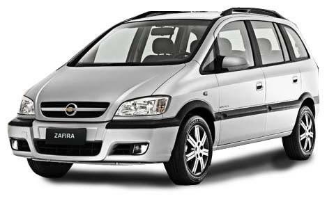 A placa do carro da atriz, modelo Zafira, foi clonada (Foto: Divulgação)