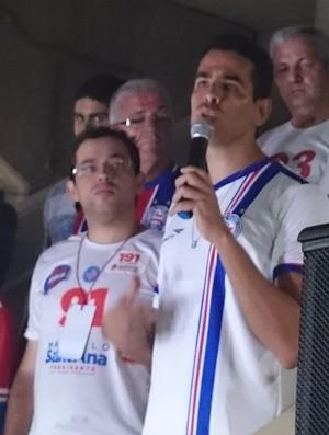 marcelo sant'anna presidente do bahia (Foto: Eric Luis Carvalho)