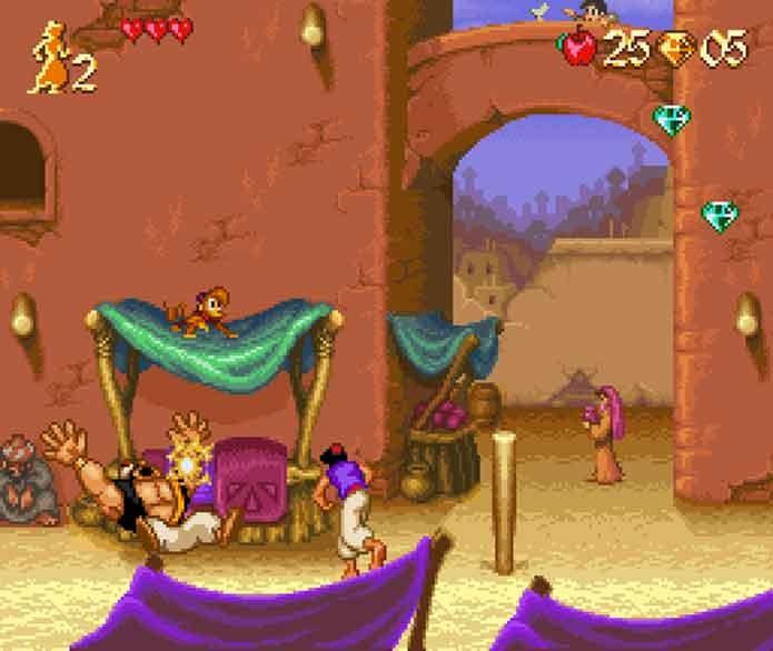 Aladdin no SNES (Foto: Reprodução/GamesDBase)