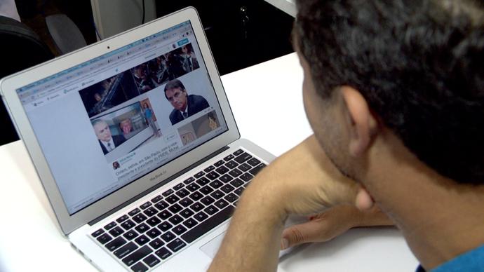Fábio Malini, comunicador especialista em Internet, conversa com o Em Movimento sobre memes políticos (Foto: Divulgação/ TV Gazeta ES)