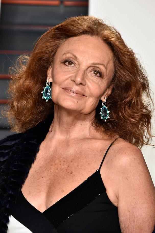 Diane Von Furstenberg: 70 anos e muito estilo (Foto: Getty Images)