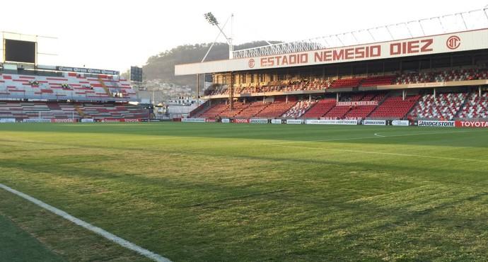 Estádio Nemesio Diez - Grêmio x Toluca (Foto: Eduardo Moura/GloboEsporte.com)