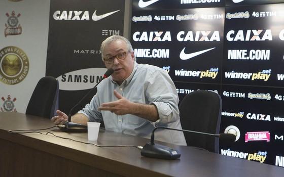 Roberto de Andrade, presidente do Corinthians (Foto: Daniel Augusto Jr. / Agência Corinthians)