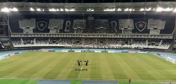 Nilton Santos Engenhão Botafogo x Olimpia (Foto: Felippe Costa)