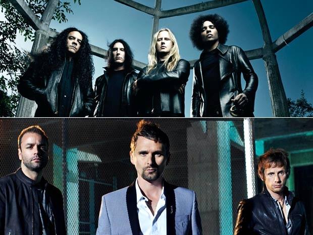 As bandas Alice in Chains (com quatro integrantes) e Muse, também estão conformadas na escalação do Rock in Rio 2013 (Foto: Divulgação)