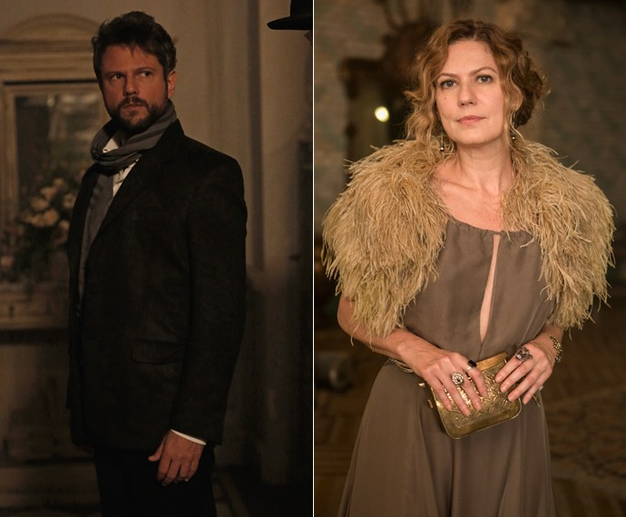 Selton será parceiro de Isabel, personagem de Patricia Pillar, em jogos de manipulação e sedução (Foto: Ellen Soares e Inácio Moraes/Gshow)