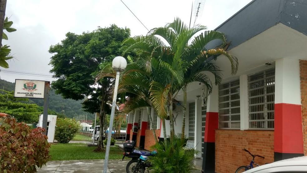 Caso foi encaminhado à Delegacia Sede de Iguape (Foto: G1 )