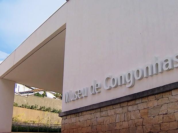 Museu de Congonhas, na cidade de mesmo nome na Região Central de Minas Gerais (Foto: Reprodução/TV Globo)