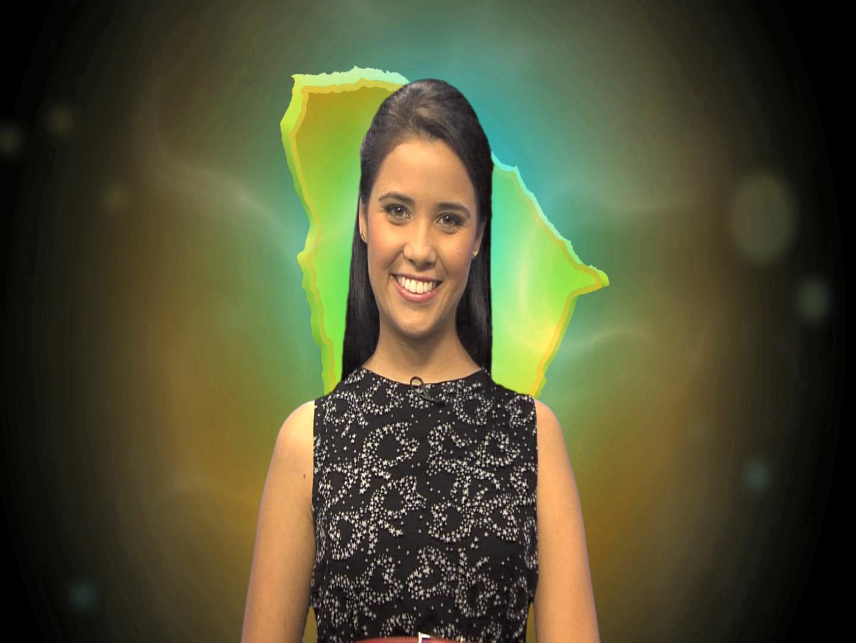 Bruna Roma, apresentadora do Encanta Ceará (Foto: Produção TV Verdes Mares)