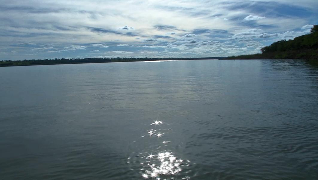 Rio Paraná  (Foto: TV Morena)