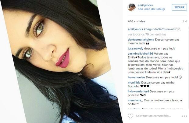 Emilly Medeiros (Foto: Reprodução/ Instagram)