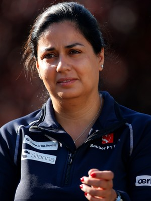 Monisha Kaltenborn é diretora da Sauber (Foto: Getty Images)