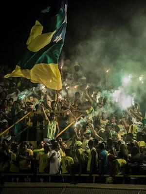 Torcida do Estanciano (Foto: Filippe Araújo )