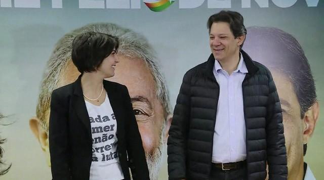 Haddad e Manuela anunciam estratégia de campanha
