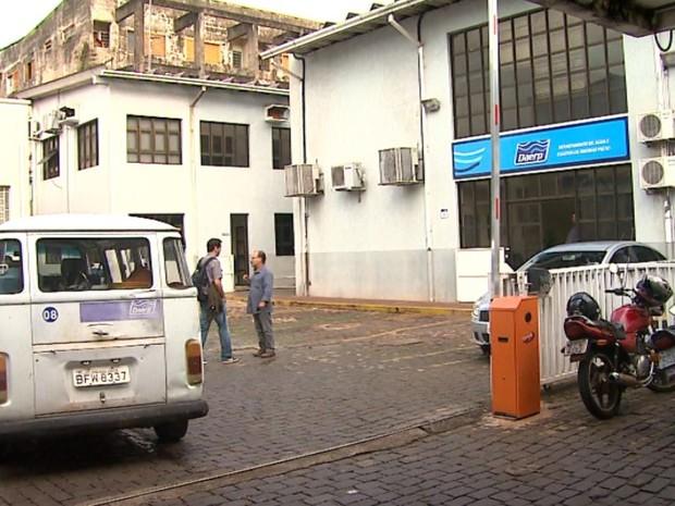 Sede do Daerp, em Ribeirão Preto, SP (Foto: Reprodução/EPTV)