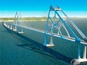 Ponte Salvador-Itaparica (Foto: Reprodução/TV Bahia)
