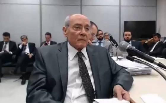 Glaucos da Costamarques em depoimento ao juiz Sergio Moro (Foto: Reprodução)