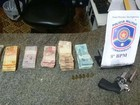 Assaltante é preso com mais de R$ 20 mil em Salgueiro, no Sertão de PE