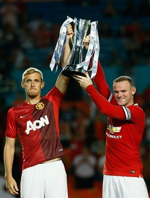 International Champios Cup 2014 Manchester United (Foto: AFP)