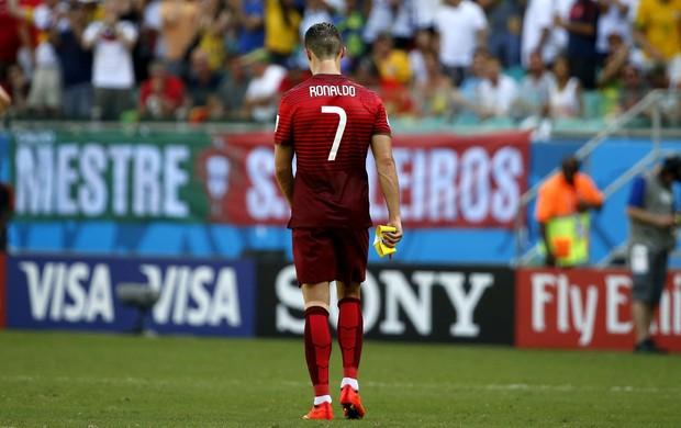 cristiano Ronaldo portugal e Alemanha Arena Fonte Nova (Foto: Agência Reuters)