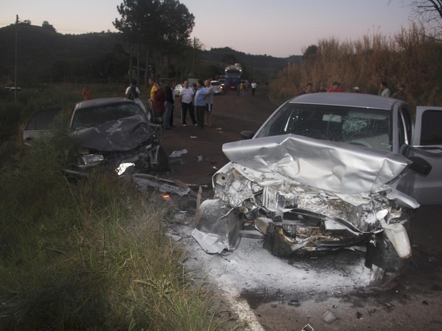 Duas pessoas morreram em acidente no RS (Foto: Divulgação/Jornal Folha da Produção)